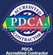 PDCA Accredited Contractor